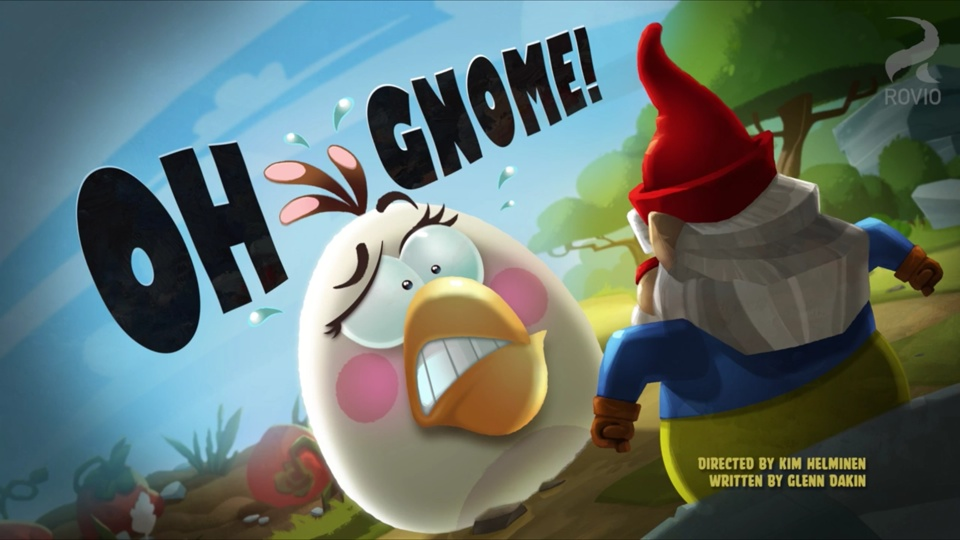 Angry Birds Toons Oh Gnome