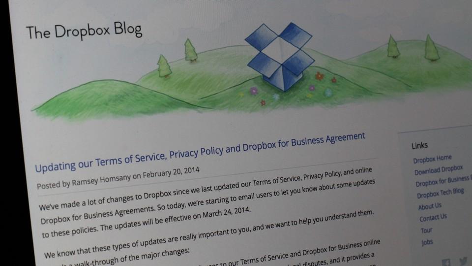Dropbox Blog 20140220