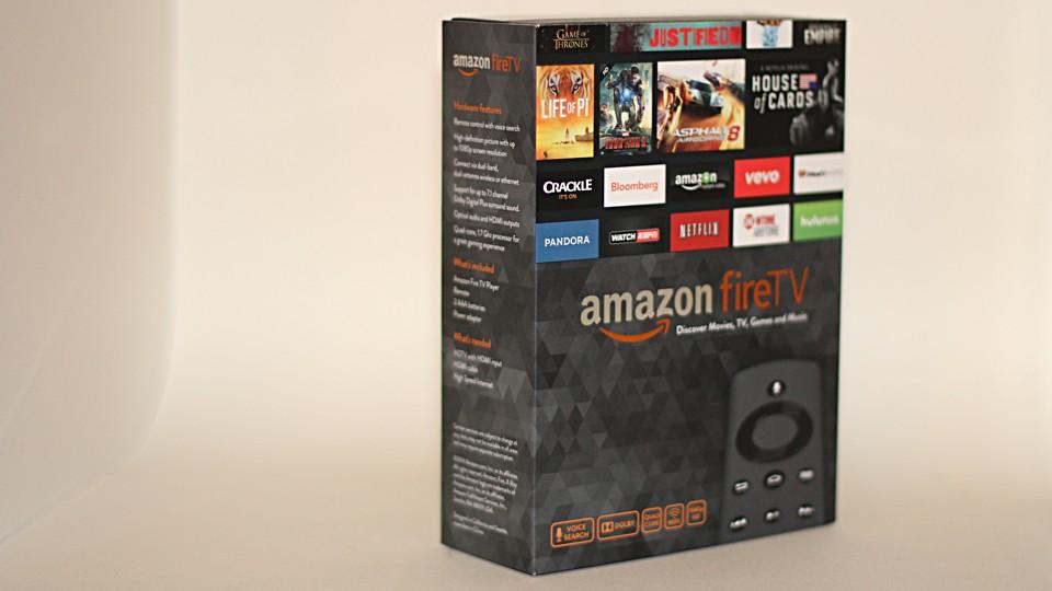 Amazon Fire TV box