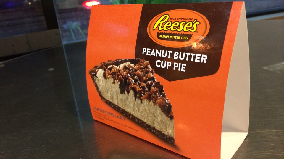Reese's Peanut Butter Cup Pie