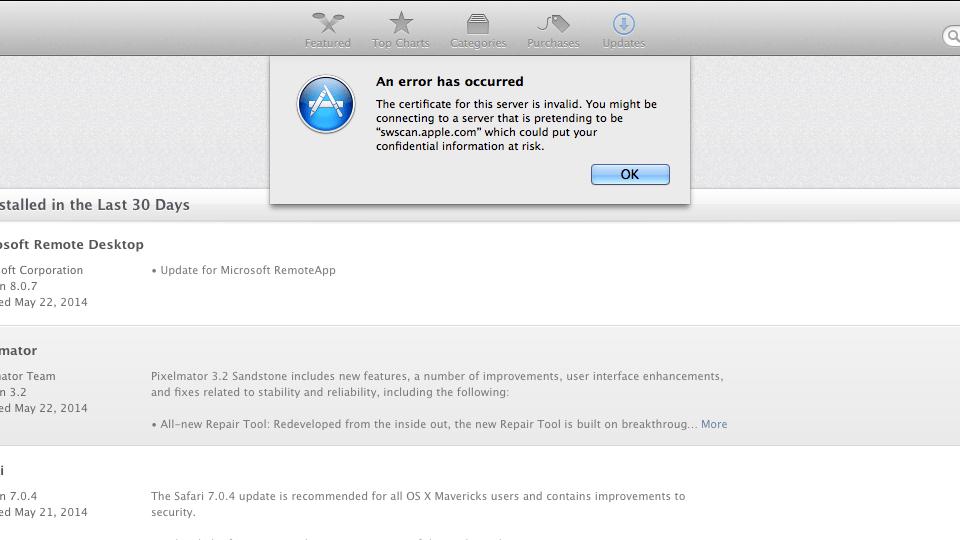 Apple-Software-Update-SSL-Error