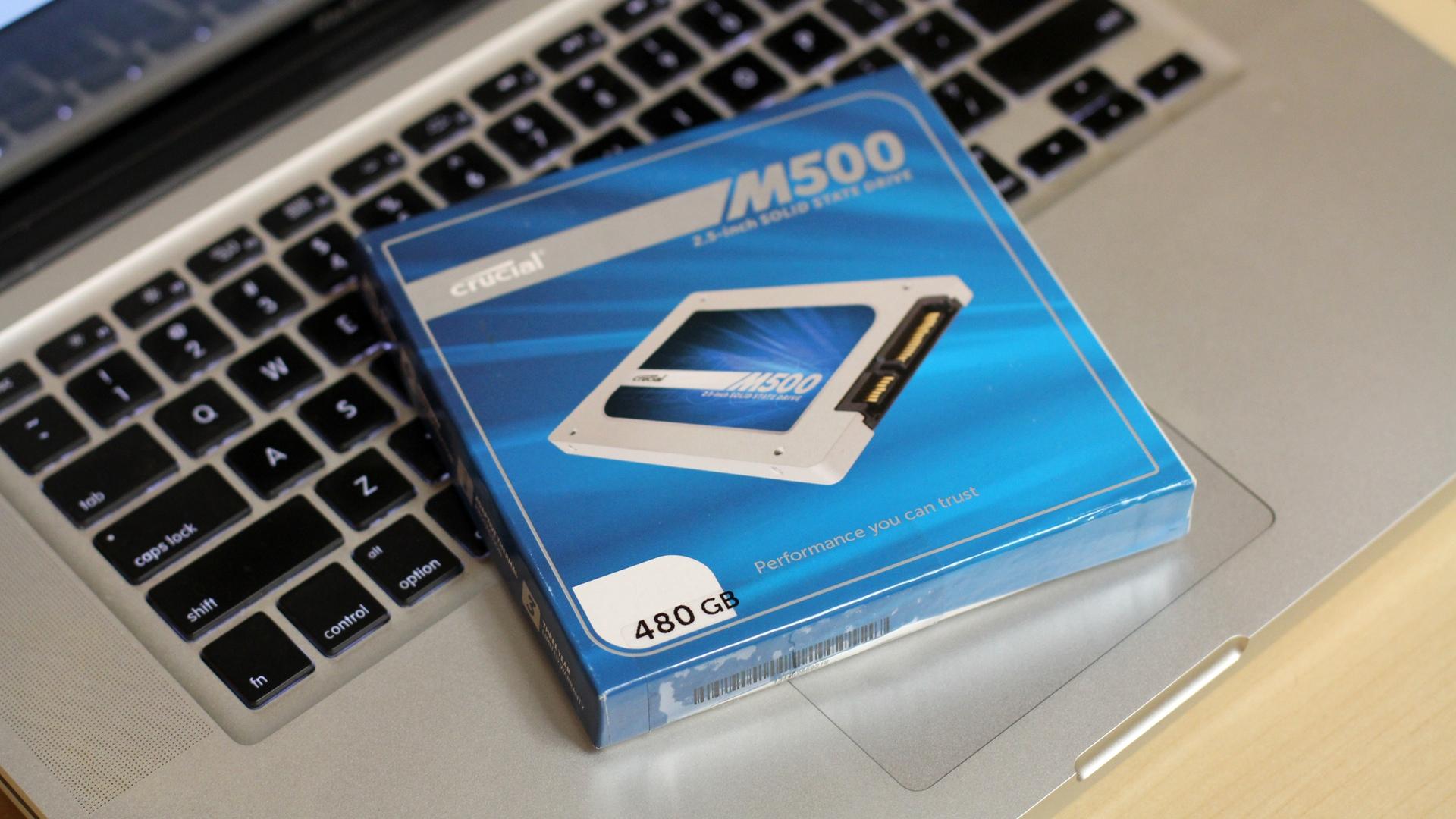 Crucial M500 SSD 480GB