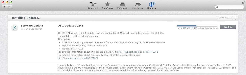 OS X Update 10.9.4