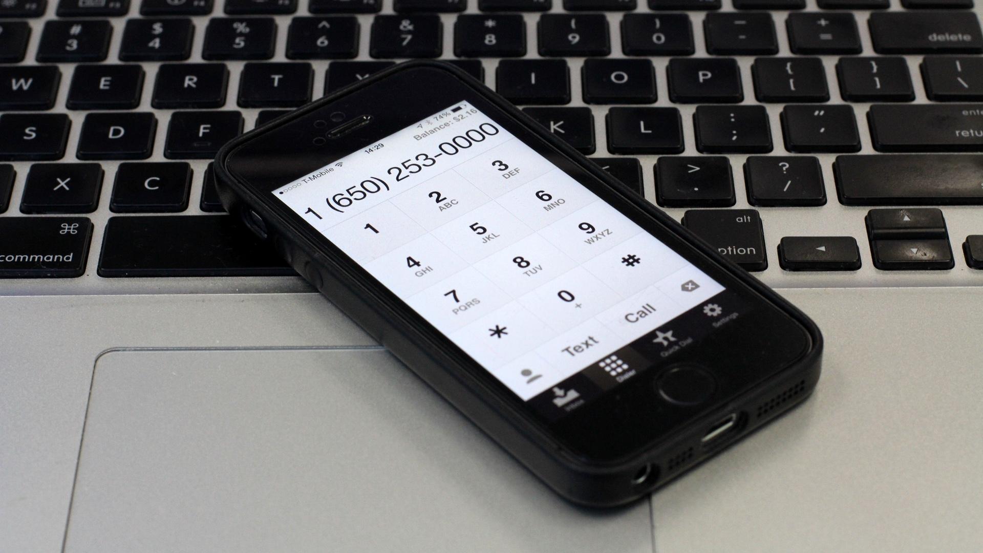 Google Voice for iOS 20140910