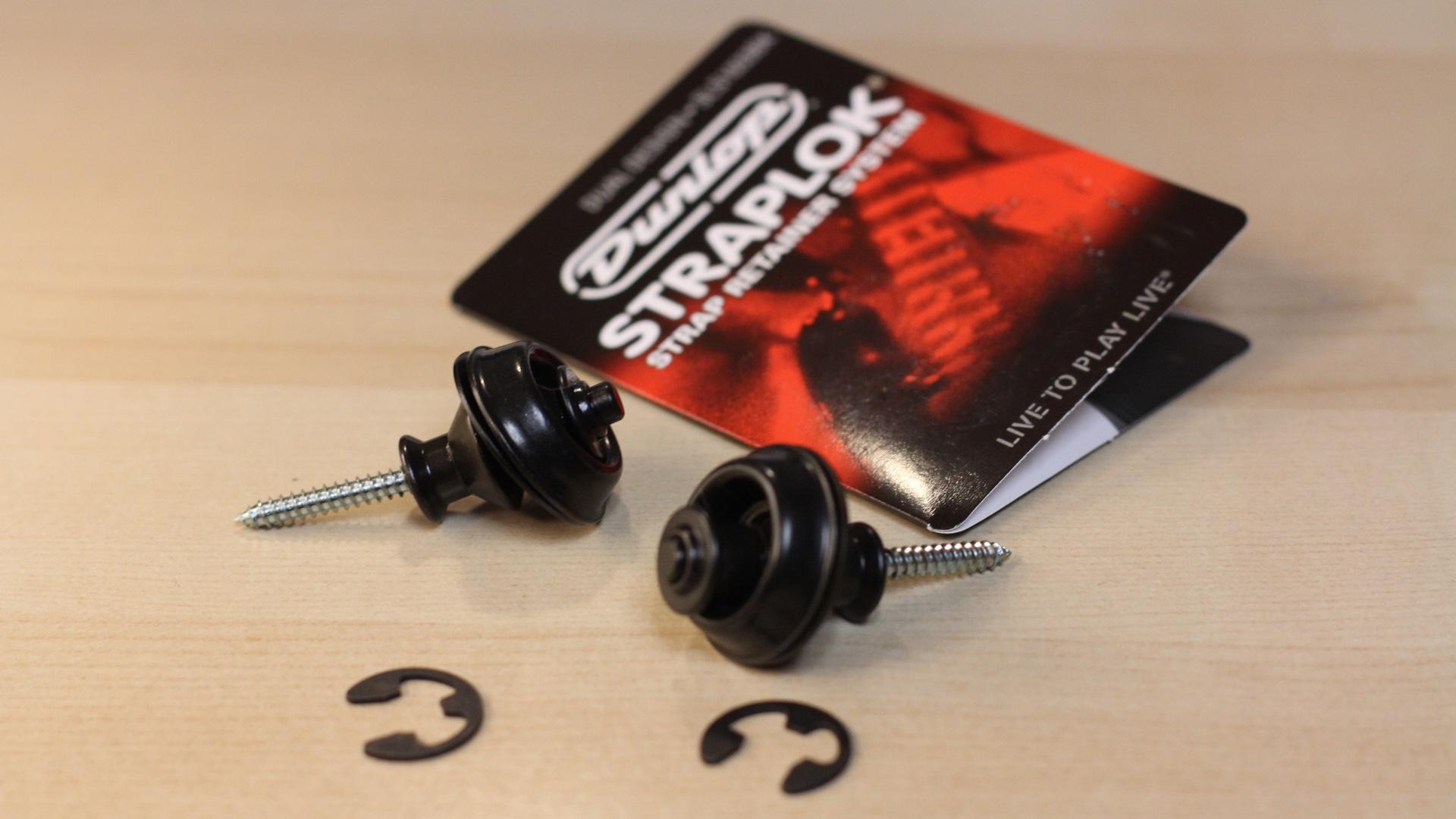 Dunlop Straplok Balck Hardware