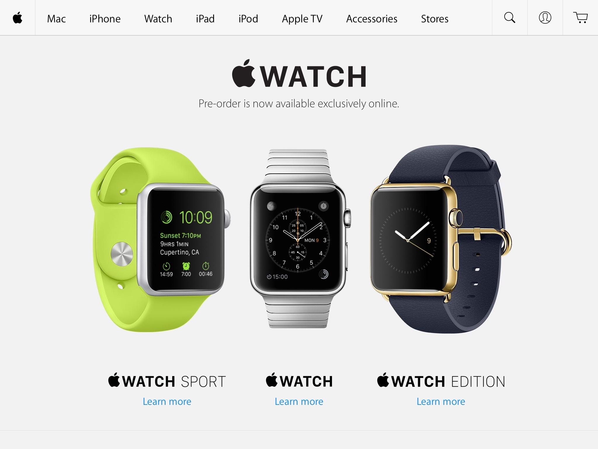 Apple Watch Pre-Order 20150410