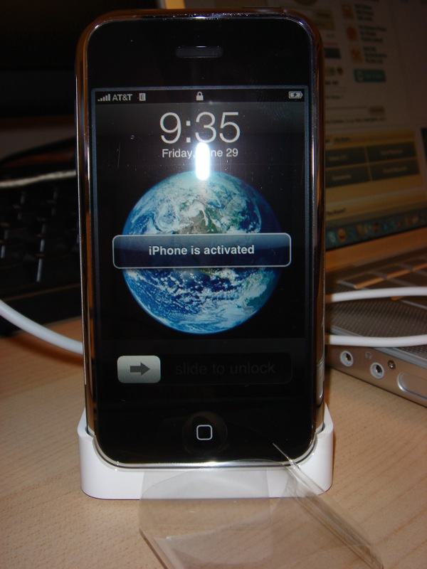 iPhone Activation on June 29 2007