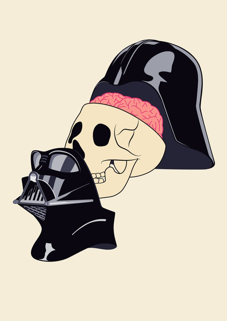 Coupe anatomique : Darth Vader