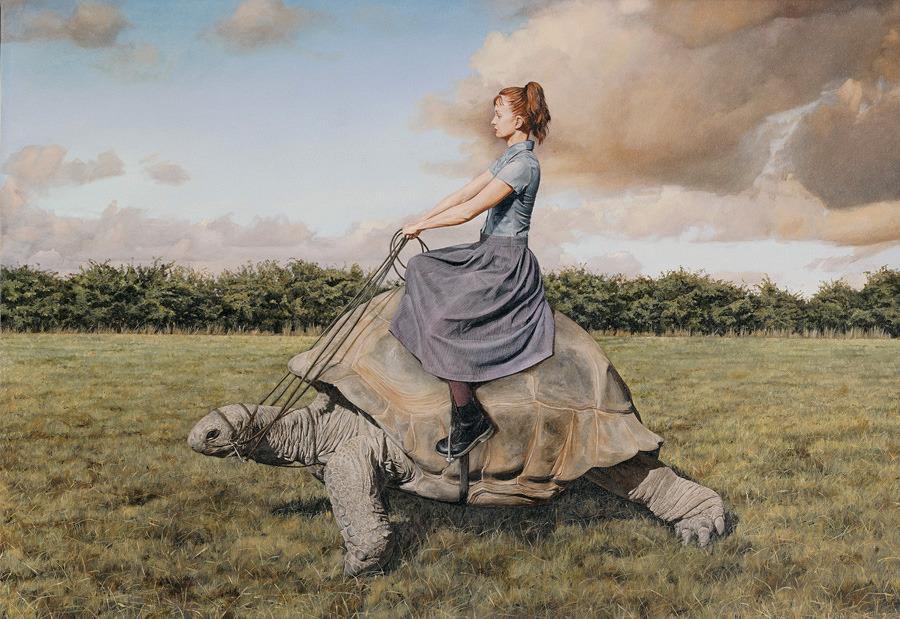 mmmerlin:  Lisa Adams of Queensland Australia surreal paintings