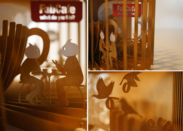 360° Laser-Cut Paper Story Books by Yusuke Oono (6/6)