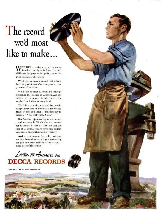 Decca Records - 1947