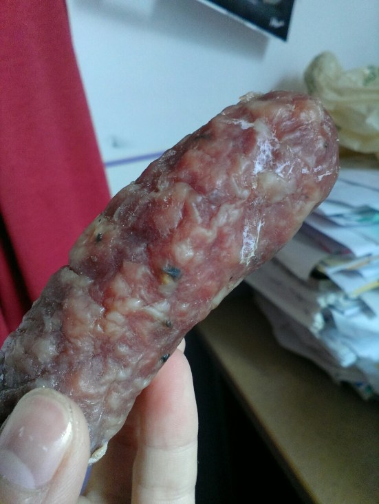 dried salami sausage