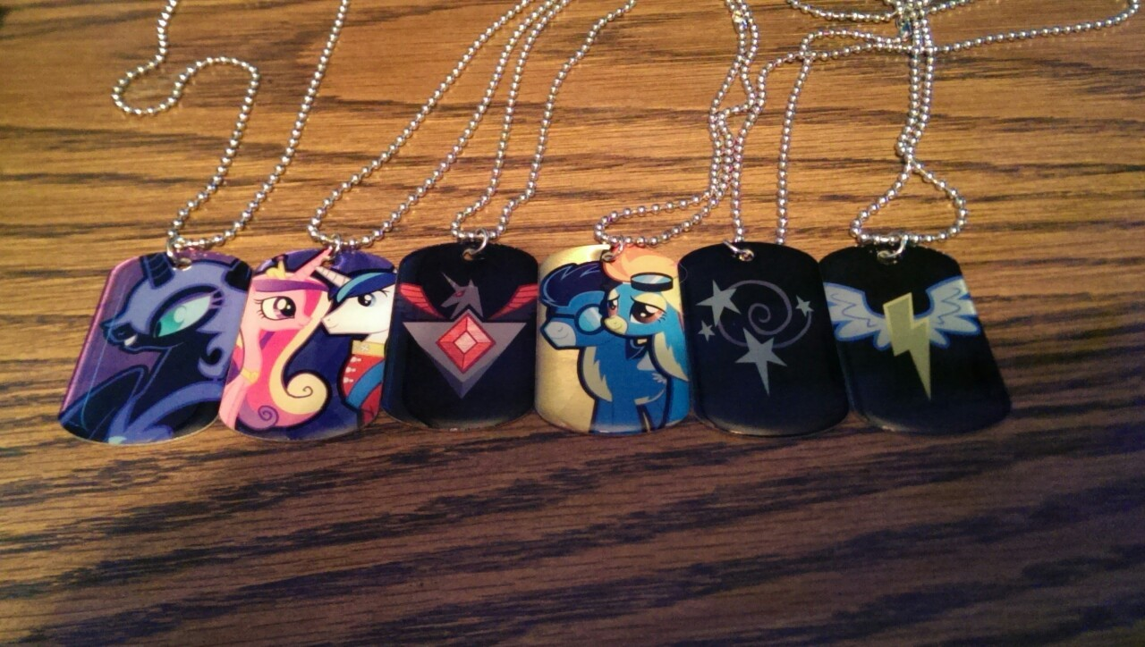 My Little Pony: Friendship Is Magic necklaces
