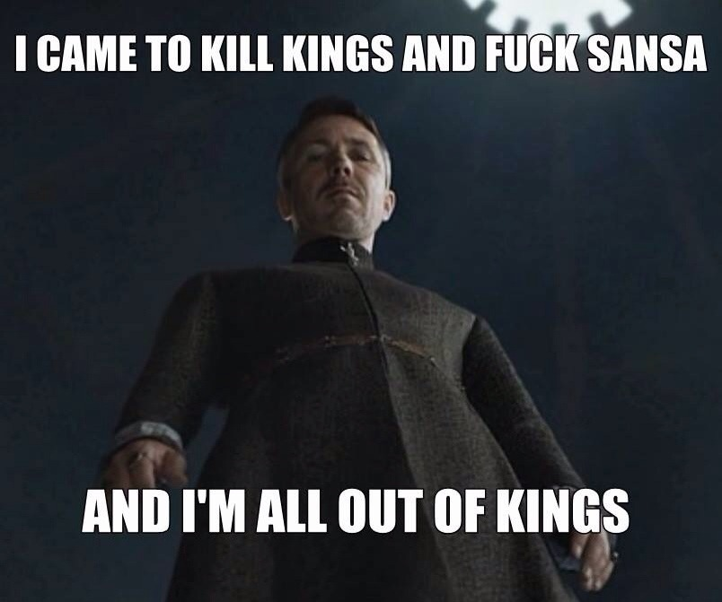 mywaterway: scampea: Poor Sansa. Lucky Sansa!