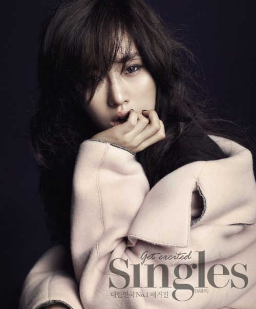 Eunjung for Singles Korea 싱글즈