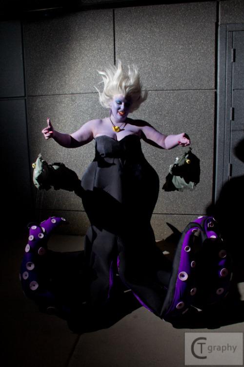 Little Mermaid Ursula BAMF Damn Disney Cosplay Body