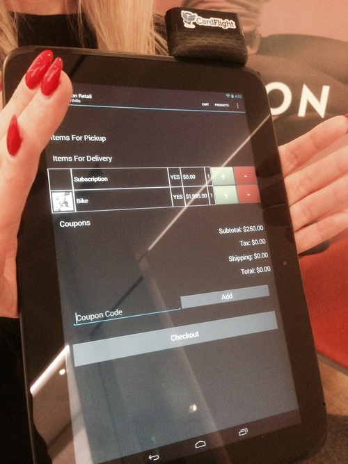 CardFlight makes mobile payments easy for Peloton Cycle