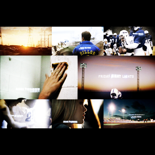 Friday Night Lights Credits Song
