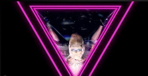 inverted triangle lady gaga