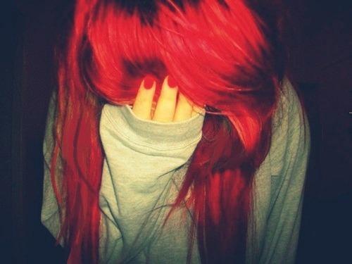 Cabello Rojo Tumblr