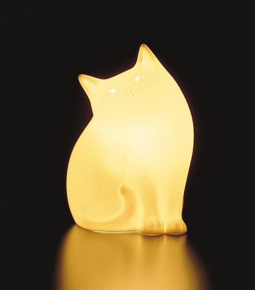 Cat Lamp by NARUMI, Japan