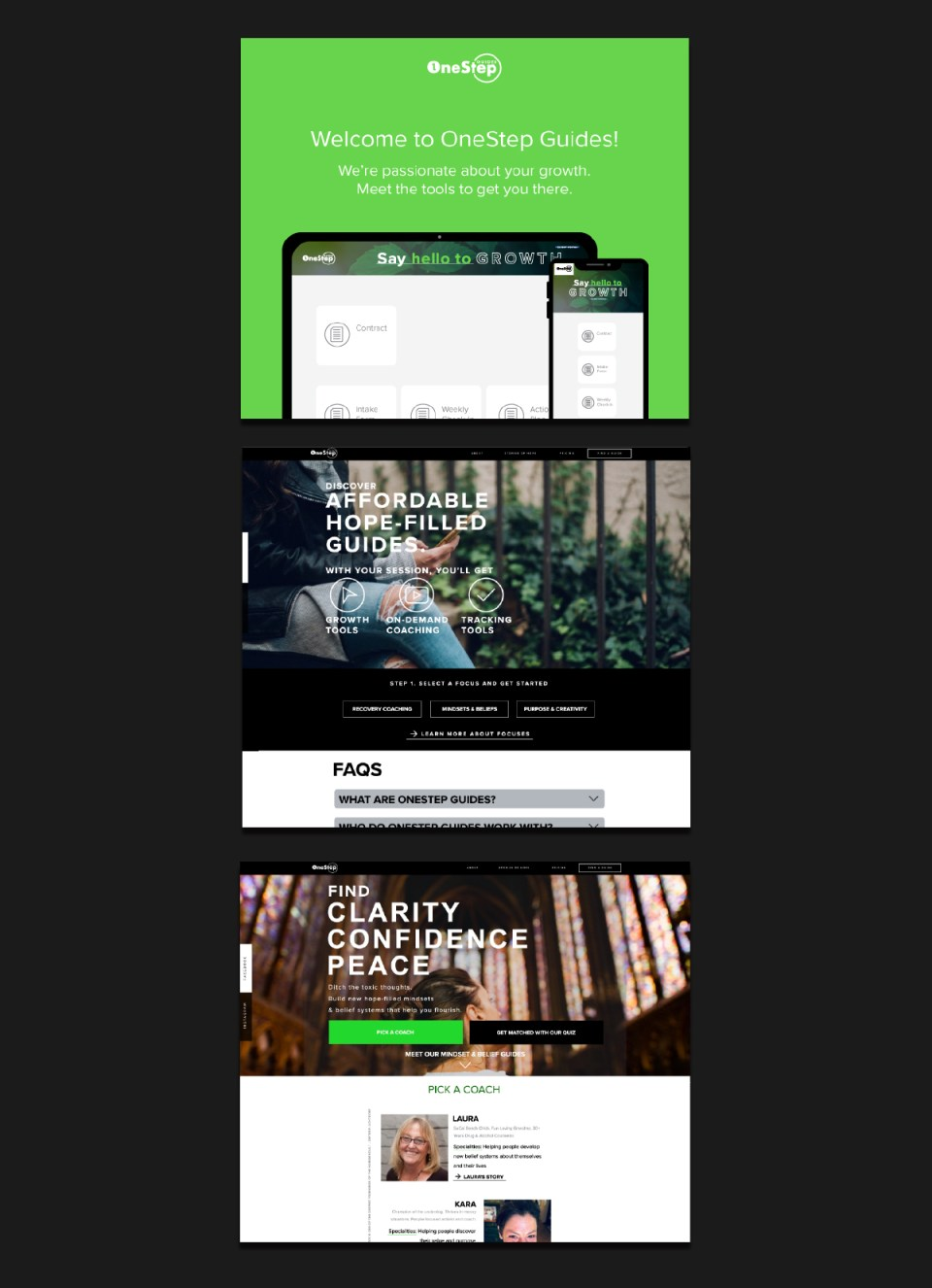 One Step Guides Web Design