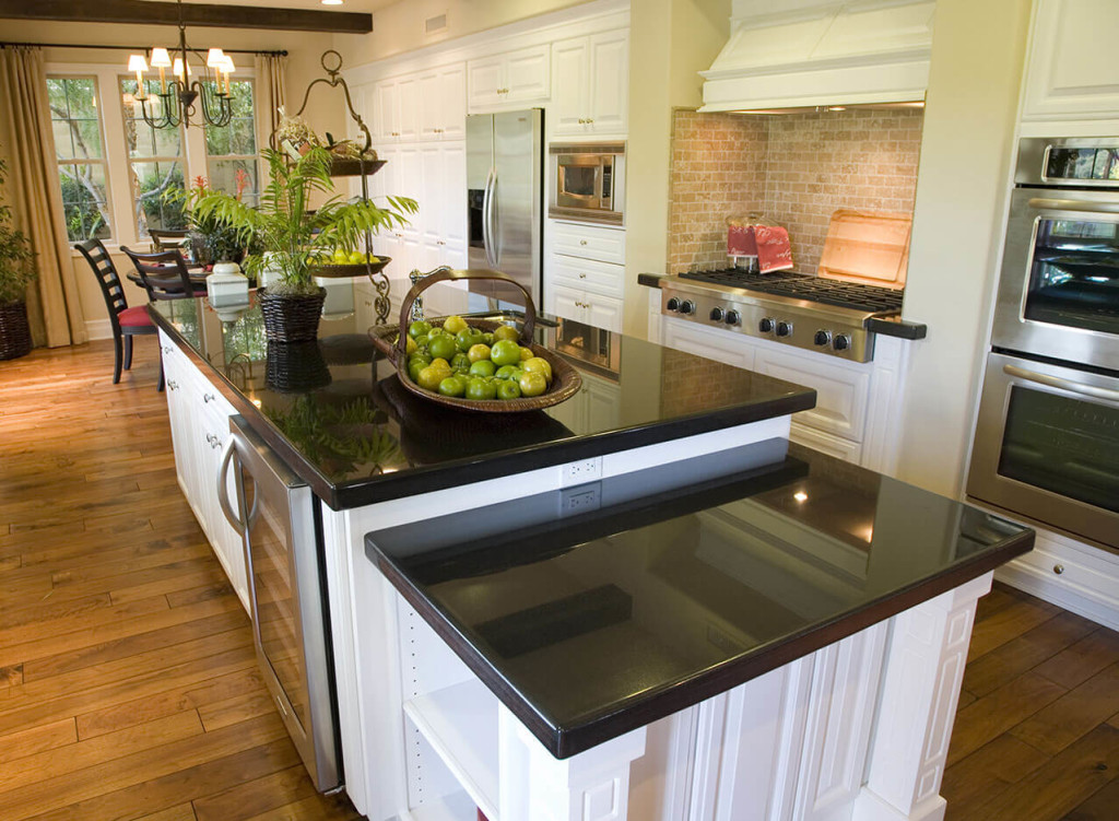 Kitchen Design Gallery - Great Lakes Granite & Marble on Kitchens With Black Granite Countertops  id=81713