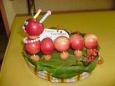 Поделка из фруктов