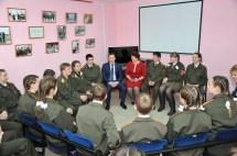 Встреча с мэром в штабе Поста №1, 2016 г.