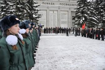 Мемориальный комплекс. Один из Дней воинской славы России