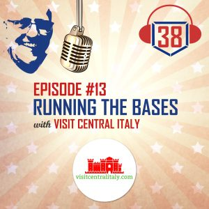 Running the bases with Visit Central Italy