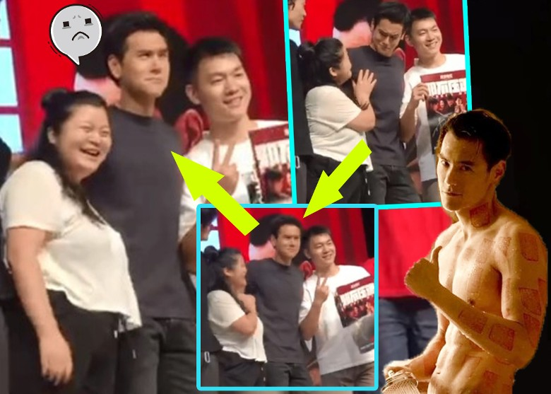Eddie Peng Molested By Female Fan
