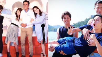 TVB Life on the Line Cast Matthew Ho Moon Lau Joe Ma Jeannie Chan Matthew Ho Bob Cheung Arnold Kwok
