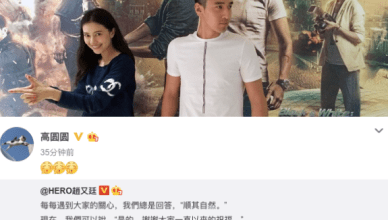 Mark Chao and Gao Yuanyuan Announce Pregnancy