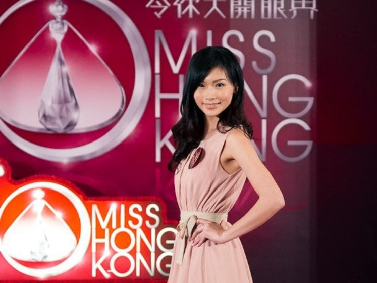 Jessica Kan Before Picture When She Joined 2012 Miss Hong Kong Pageant, Plastic Surgery Rumors?