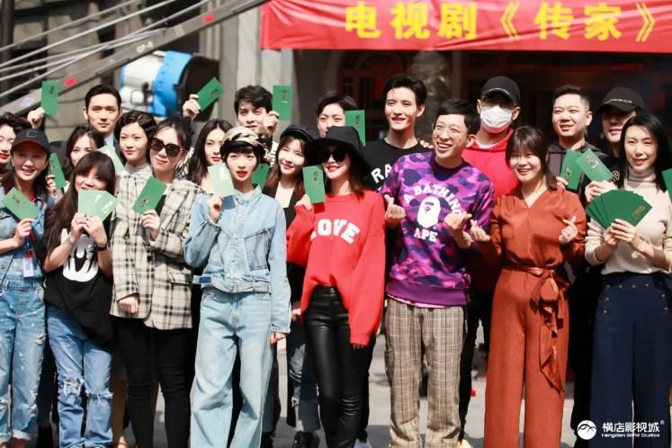 """Qin Lan, Wu Jinyan, and Nie Yuan Reunite in New Series, """"The Heritage"""""""