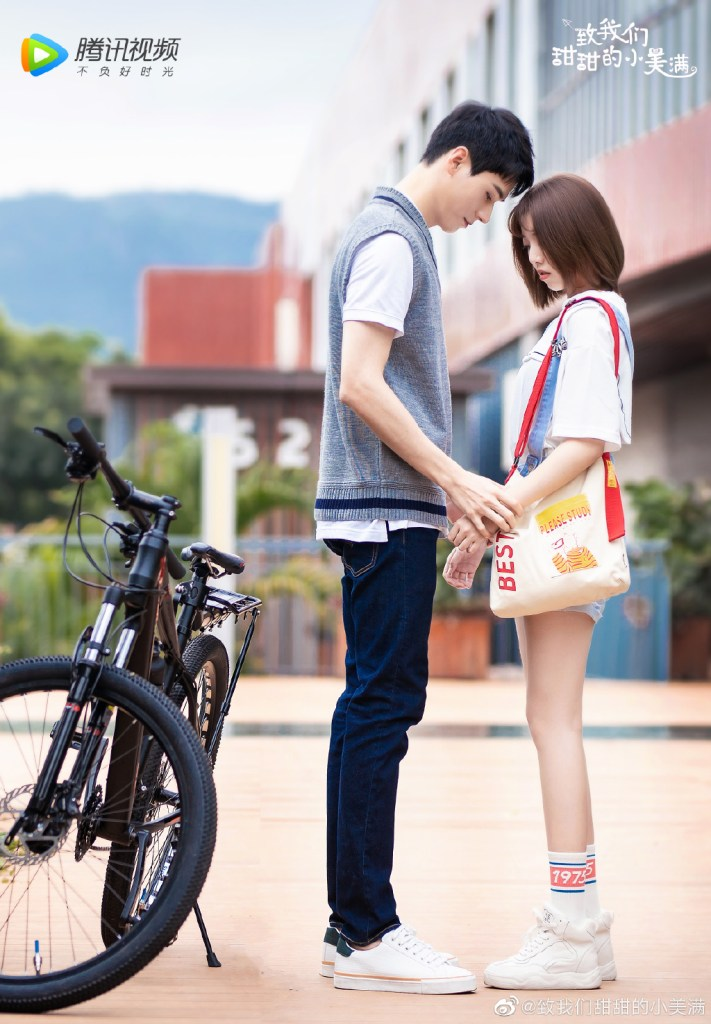 Simon Gong Jun and Reyi Liu Renyu Tackle Most Adorable Height Difference in The Sweet Love Story