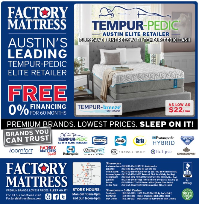Factory Mattress Special Purchase Pg 1 4