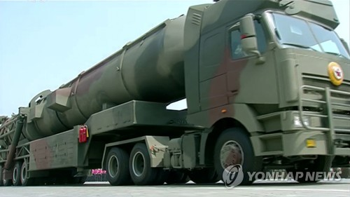 Figure 5. The second type of Pukguksong-3 ICBM. (Photo: Yonhap News)