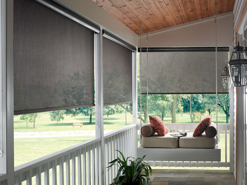 Exterior Patio Shades Block The Sun Not The View