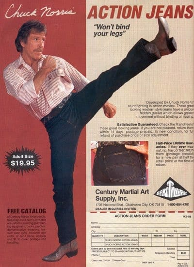 Gusset: What is it and why is it awesome? ActionJeans400