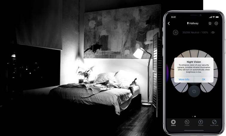 Improve Baby Monitor Night Vision: Instantly! lifx-nightvision