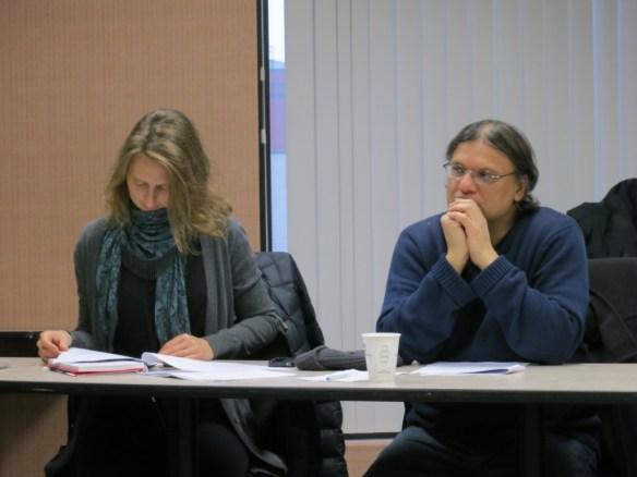 Rank-and-file members at bargaining