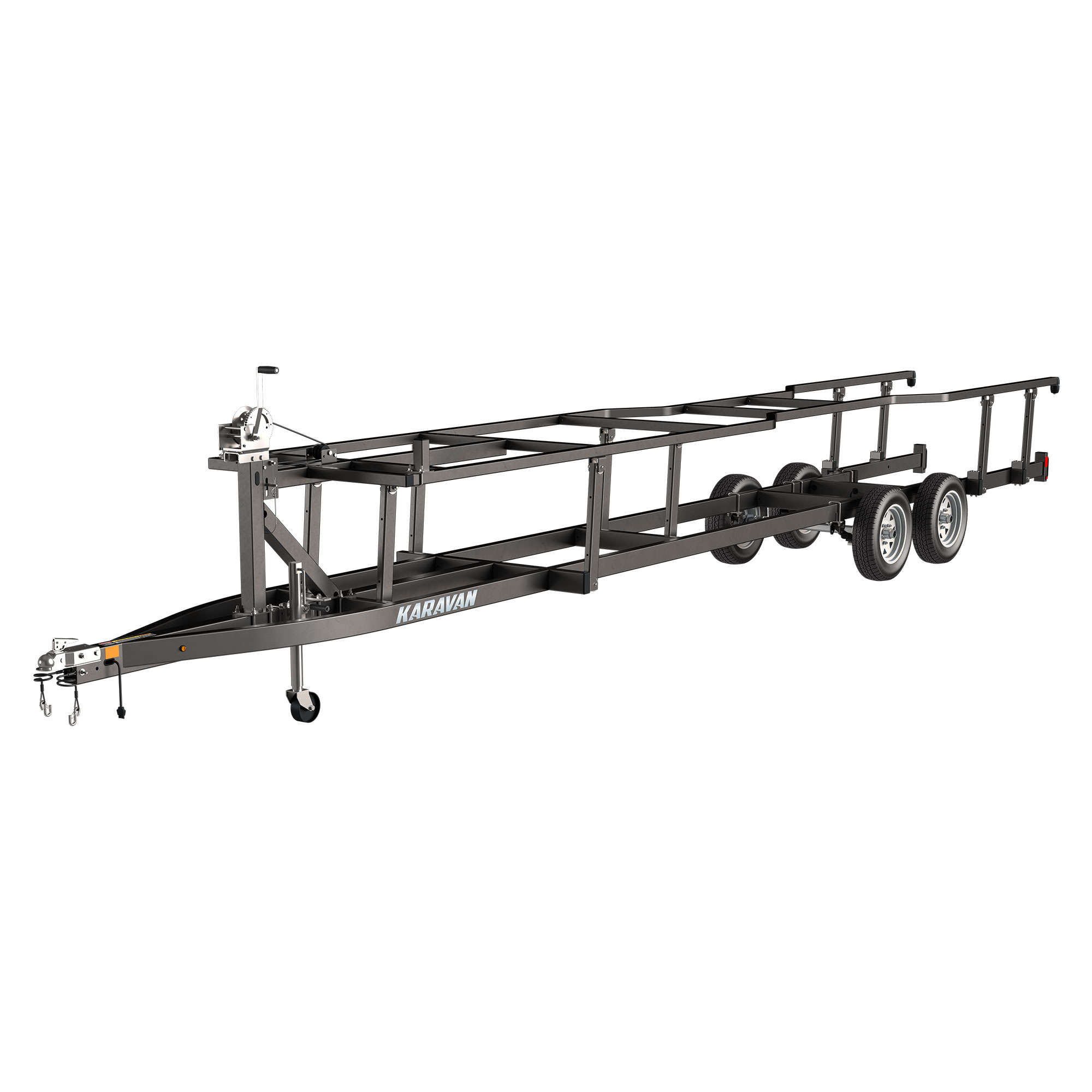 Single Axle Midsize Pontoon Trailer