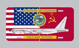 SAC Cold War Vet license plate