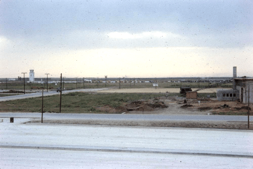 500px View from airmans barracks 1958