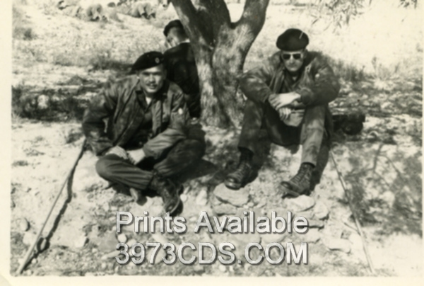 Bob Honeycutt (L)  Breaktime- Palamares, Spain  Crash Site Search.