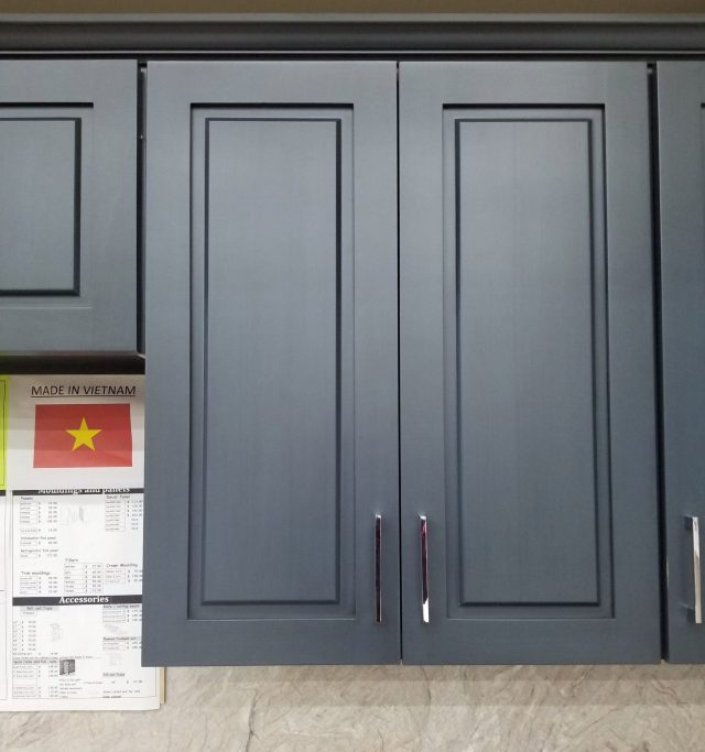 Blue Cabinets Email For Samples At Builders Surplus