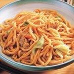 おびゴハン|鮭とほうれん草の焼きうどん/栗のミルクプリンの作り方レシピ