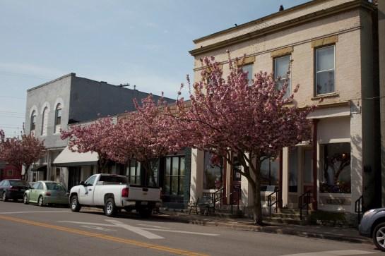 Down town on Main Street 14